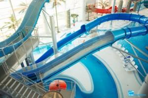 Гидроизоляционные работы в аквапарке