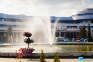 Реконструкция фонтана (аэропорт Минск-2)