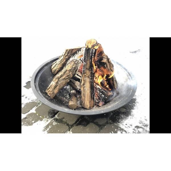Сковорода 260*40 с быстро съемной деревянной ручкой