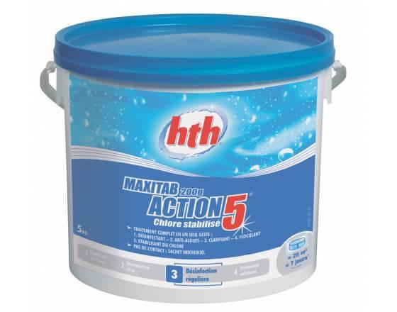 Многофункциональные таблетки стабилизированного хлора 5 в 1, 200 гр. 25 кг. арт. К801778Н1