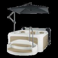 Гидромассажный спа-бассейн Dream Spa Cabana 2500