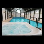 Гидромассажный спа-бассейн Allseas Spa River Flow Square (переливной)