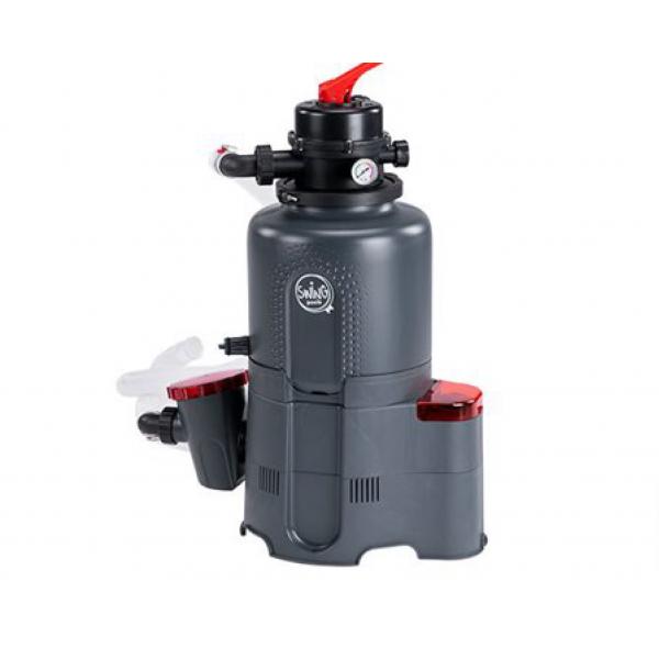 Фильтровальная установка для бассейна AZURO 4 с таймером (143мм; 4м3/ч; 0,19кВт)