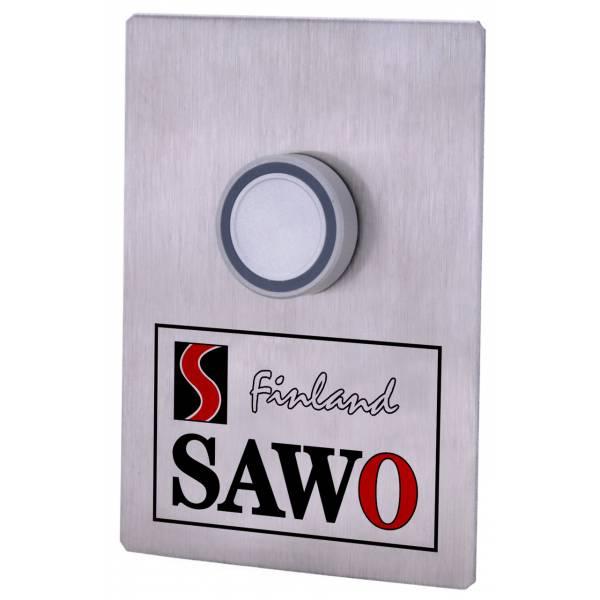 Кнопка вызова Sawo STP-BTN с подсветкой и 10-метровым соединительным проводом
