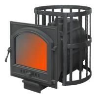 Банная печь ПАРОВАР 16 сетка-ковка (505)