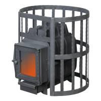 Банная печь ПароВар 16 сетка-ковка (201) без выноса