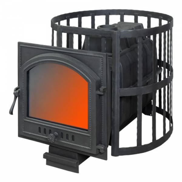 Банная печь ПАРОВАР 22 сетка-ковка (505)