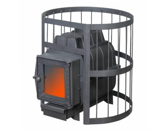 Банная печь ПАРОВАР 22 сетка-прут (201) без выноса