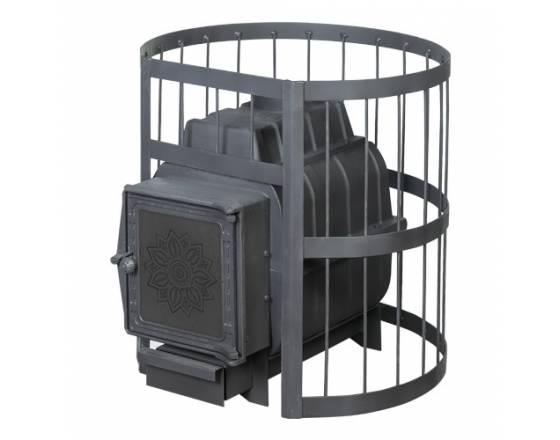 Банная печь ПАРОВАР 22 сетка-ковка (211) без выноса