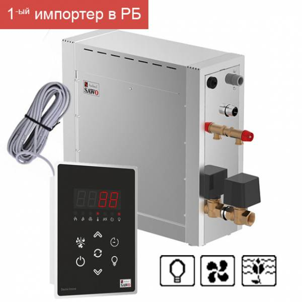 Парогенератор для хаммама SAWO STN-150-3-DFP-V2