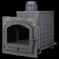 """Чугунная банная печь """"Гефест 3К"""" ПБ-100П-3К"""