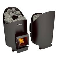 Банная печь на дровах Grill'D Aurora 160 short black