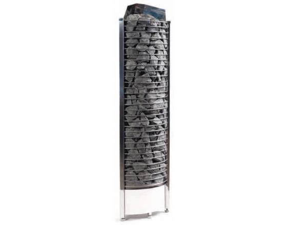 Электрокаменка SAWO Tower Corner 8 кВт угловая, со встроенным п/у Арт. TH6-80NB-CNR