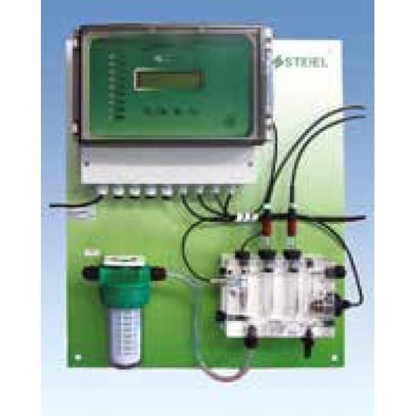 """Контроллер рН, свободного хлора, редокс-потенциала, температуры """"PNL EF214 pH/Rx/T/CL"""""""