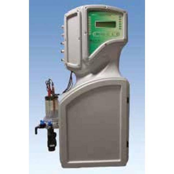 Фотометрический контроллер свободного и общего хлора, температуры, рН и редокс-потенциала  артикул 80509204/AQM