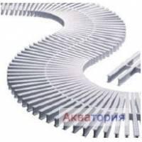 Модуль решетки перелива из ABS-пластика Артикул: 1748222