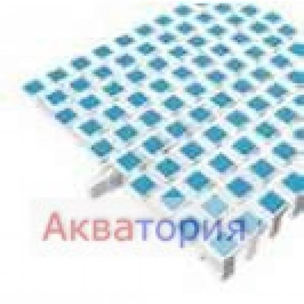 Решетки для переливных лотков Nexus SCACCO Радиальный участок Арт 1004288