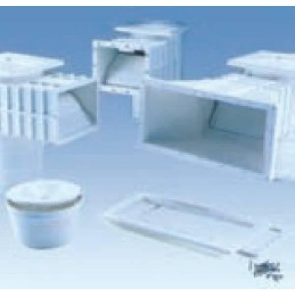 Скиммер для бетонного бассейна  Артикул:  A-002