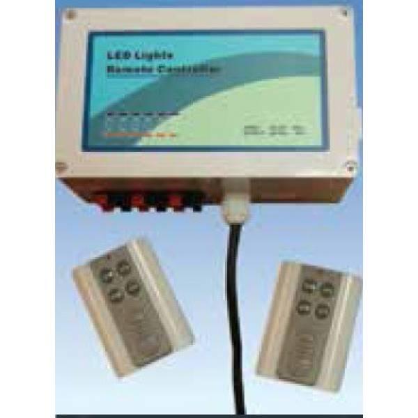 Контроллер  для управления цветными светодиодными лампами 19 различных программ, до 6 светодиодных ламп. 200 вт артикул  WLLEDYAQ 02