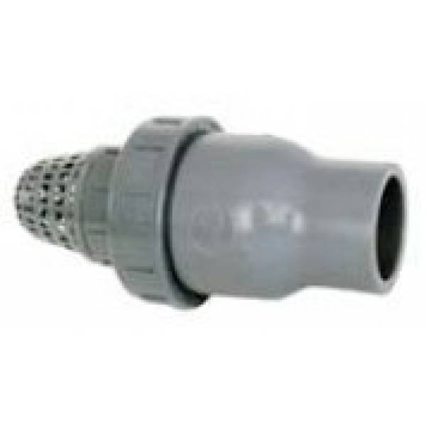 Обратный клапан с фильтром грубой очистки Ø 32 Арт. 1410032