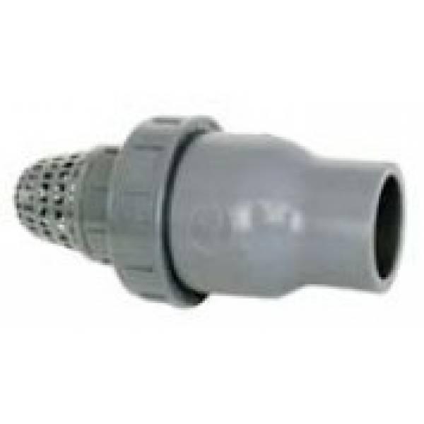 Обратный клапан с фильтром грубой очистки Ø 63 Арт. 1410063