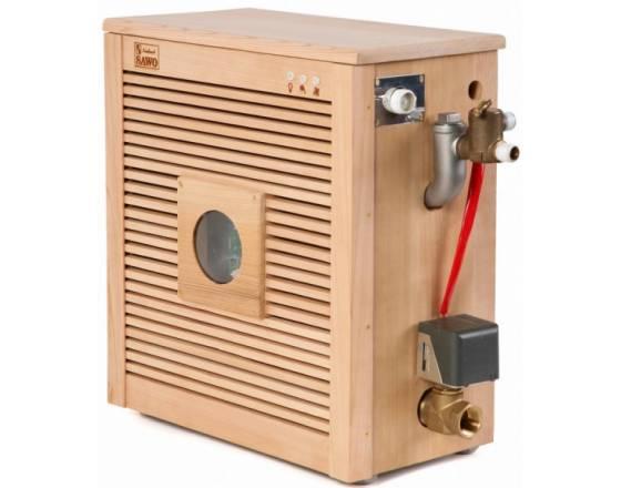 Парогенератор STPD-120-3 в кедровой отделке в комплекте с пультом Innova и автоочисткой