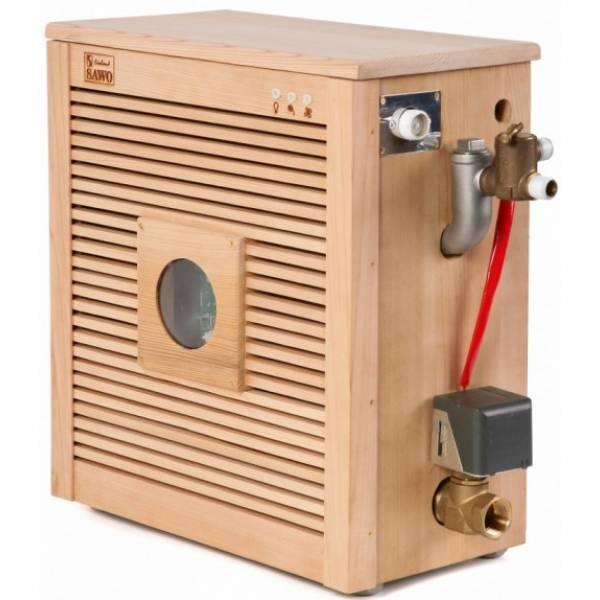 Парогенератор STPD-90-C1/3 в кедровой отделке в комплекте с пультом Innova и автоочисткой