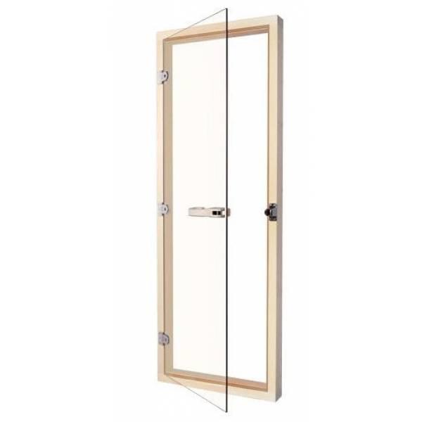 Дверь 730 - 4SСP, 690mm x 1890mm Прозрачная с порогом