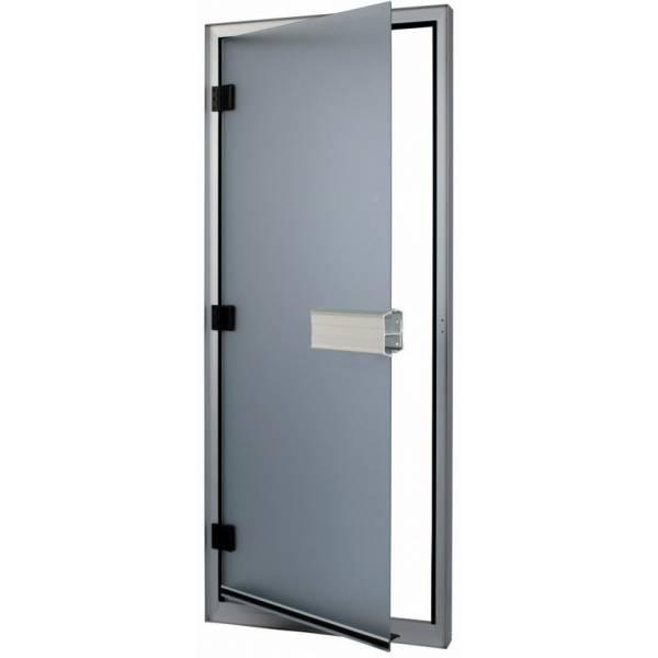 Дверь 740-L, коробка алюминий 785мм x 1850мм (левая)