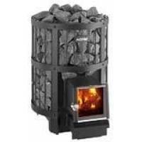 Дровяная печь Legend 150 SL WK150LDSL Harvia с металлическим каркасом