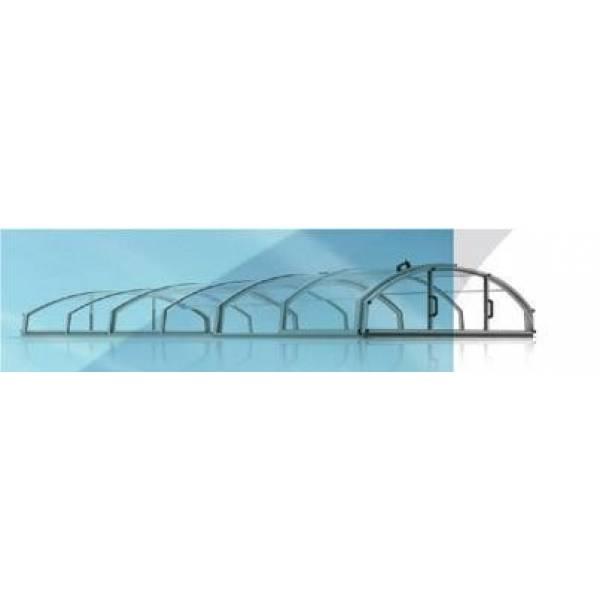 Павильоны для бассейнов CASABLANCA INFINITY Размер павильона 6,46 х 3,90 м Размер бассейна 6,35 х 3,45 м арт 1016149