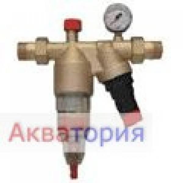 Фильтр механически  Avanti НWS 3/4 с ручной  промывкой, редуктор, клапан