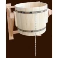 Обливное ведро на 22 литров из чистого дерева