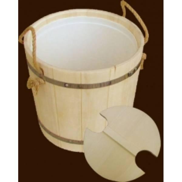 Запарник для бани и сауны на 22 литров из чистого дерева