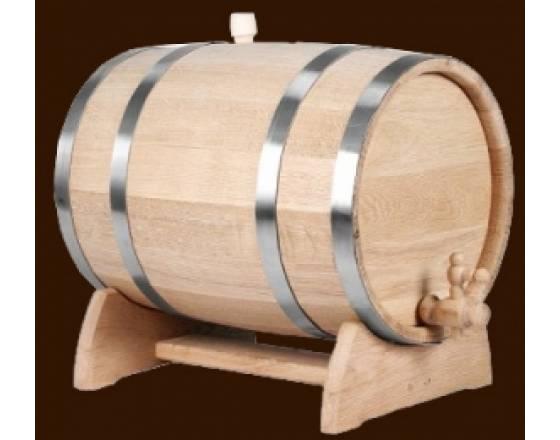 Бочонок из дуба для вина и коньяка на 1 л