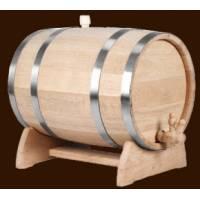 Дубовая бочка для вина и коньяка на 3 л