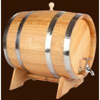 Дубовая бочка для вина и коньяка на 30 л обработка Воск Масло