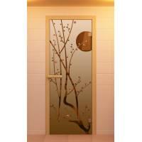 """Дверь для сауны и бани """"Сакура"""""""