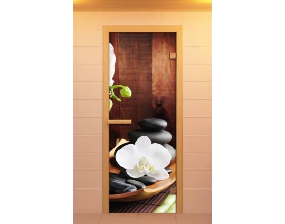 """Дверь для сауны и бани """"Спа"""""""
