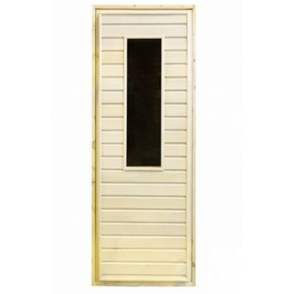 Дверь банная остекленная