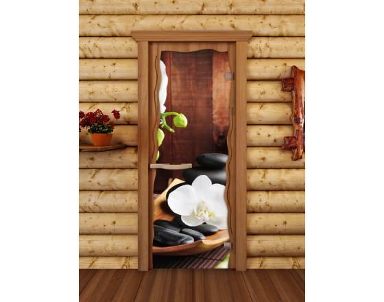 """Дверь для сауны """"Круиз"""" Спа"""