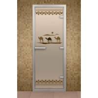 Дверь для турецкой бани и ванной Шелковый путь