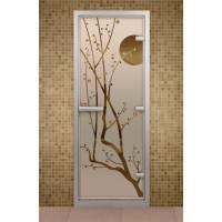 Дверь для турецкой бани и ванной Сакура