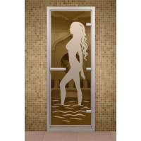Дверь для турецкой бани и ванной Диана