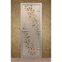 Дверь для турецкой бани и ванной Береза