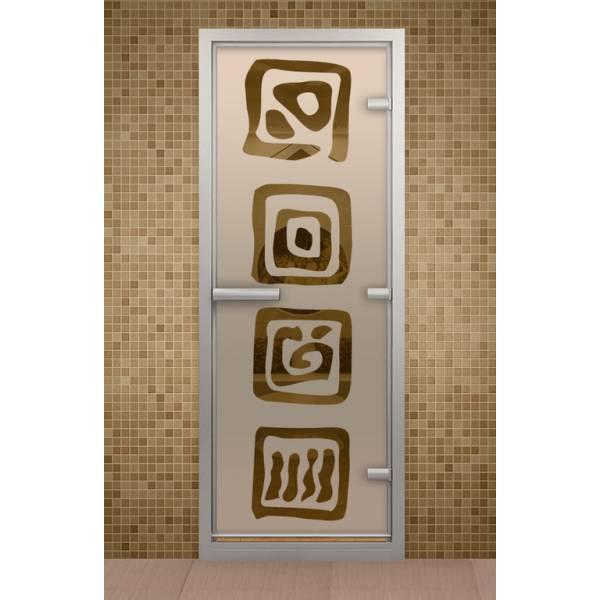 Дверь для турецкой бани и ванной Оазис
