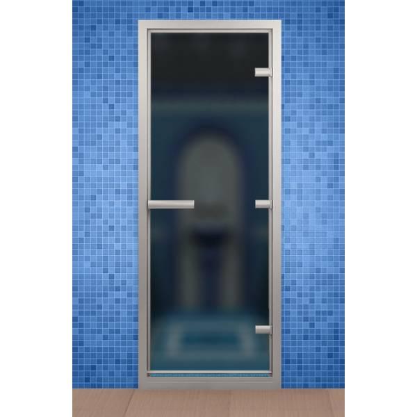 Дверь для турецкой бани и ванной, стекло сатин