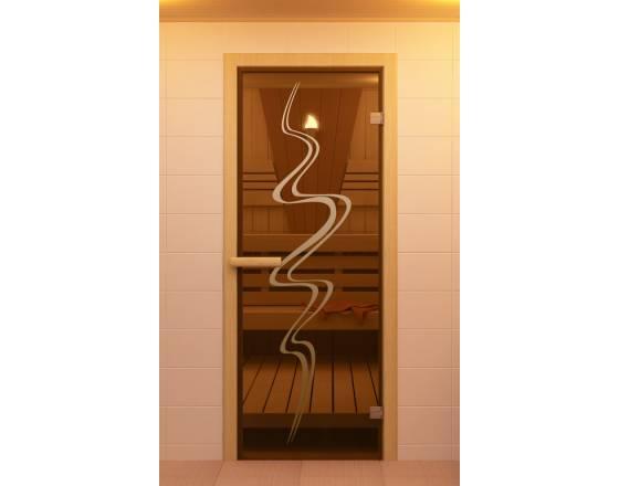 """Дверь для сауны и бани """"Торнадо"""""""