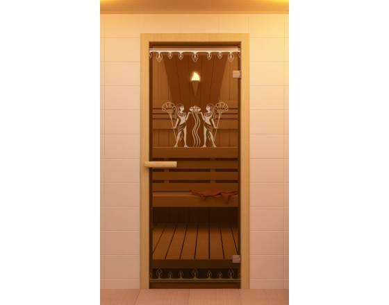 """Дверь для сауны и бани""""Фараон"""""""