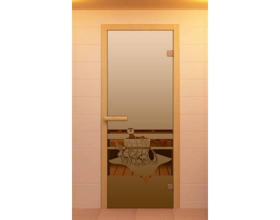 """Дверь для сауны и бани, серия """"Банный вечер"""""""
